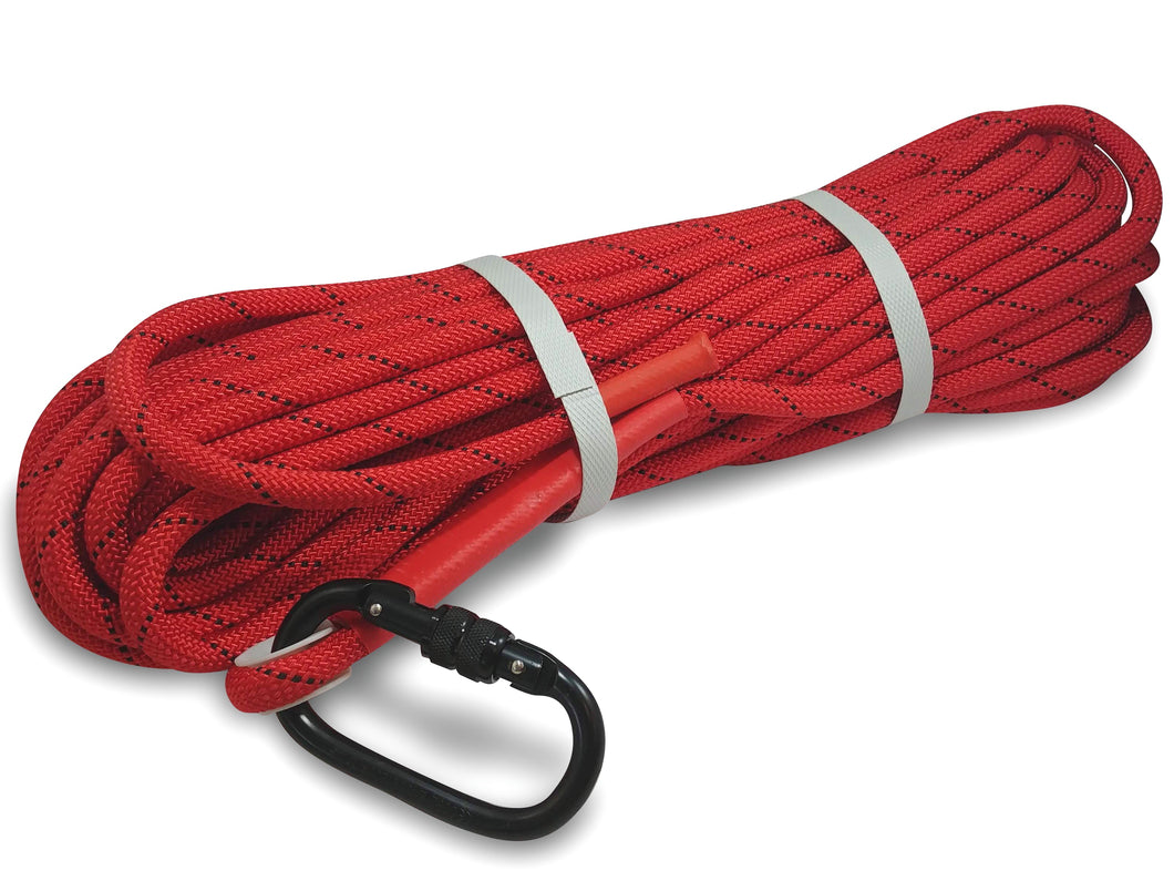 "Extra Heavy Duty Double Braided  0.40"" nylon rope, (65 feet)"