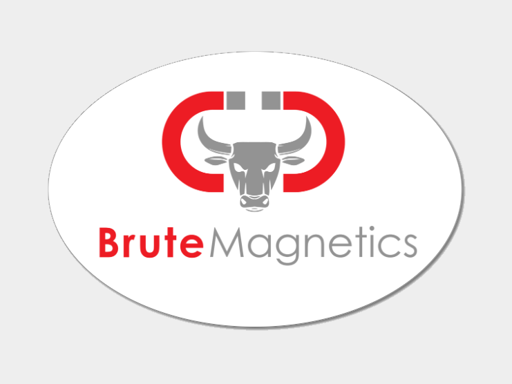 Brute Magnetics Sticker