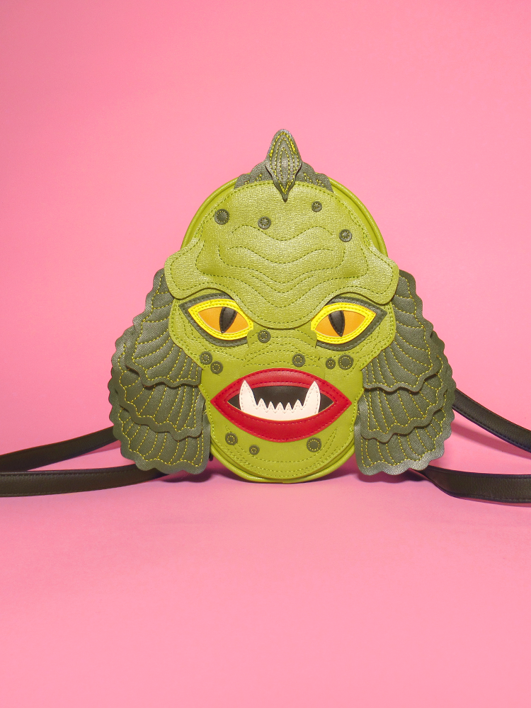 PRE-ORDER - Swamp Monster Backpack - Love Pain and Stitches X Vixen
