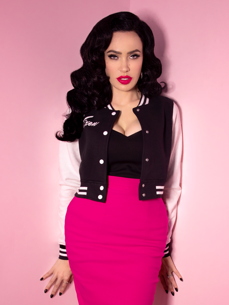 PRE-ORDER - Vixen Girl Gang Letterman Jacket - Vixen by Micheline Pitt
