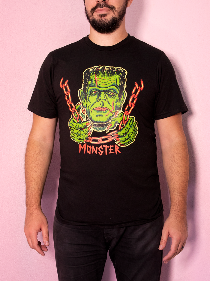FINAL SALE - Ben Cooper Men's Monster T-Shirt - Vixen by Micheline Pitt
