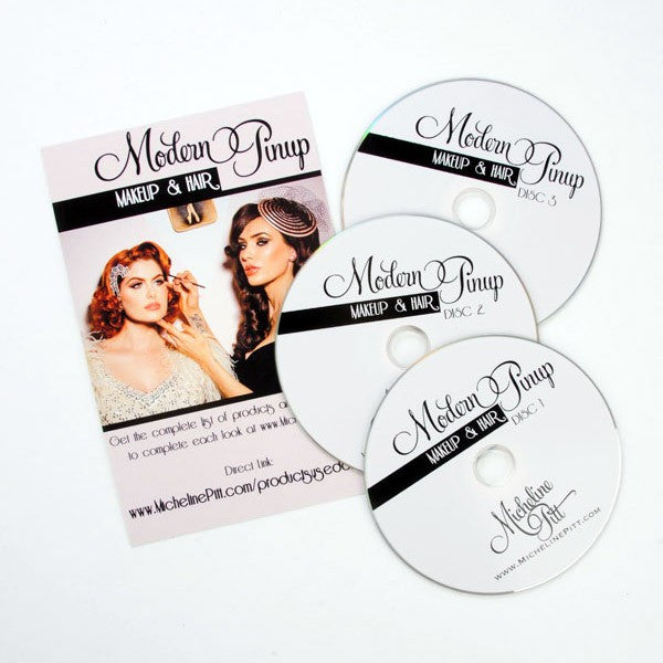 Modern Pinup DVD - Makeup and Hair Styling Guide by Micheline Pitt