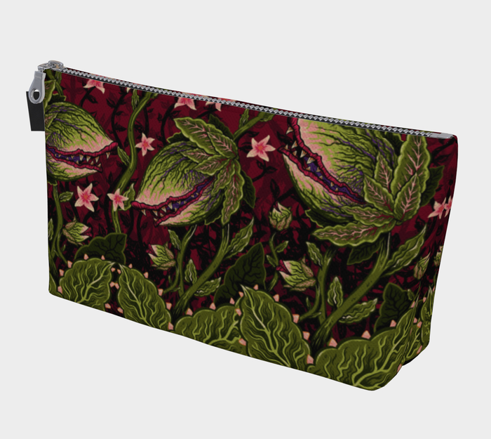 PRE-ORDER - Maneating Monster Makeup Bag - Vixen by Micheline Pitt