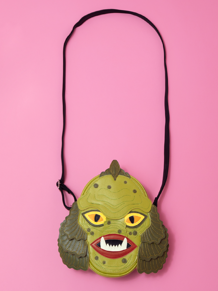 Swamp Monster Cross Body Bag - Love Pain and Stitches X Vixen