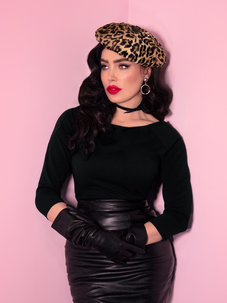 Wild Ways Vintage Black Top - Vixen by Micheline Pitt