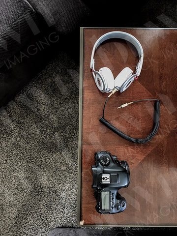 Camera and Headphones