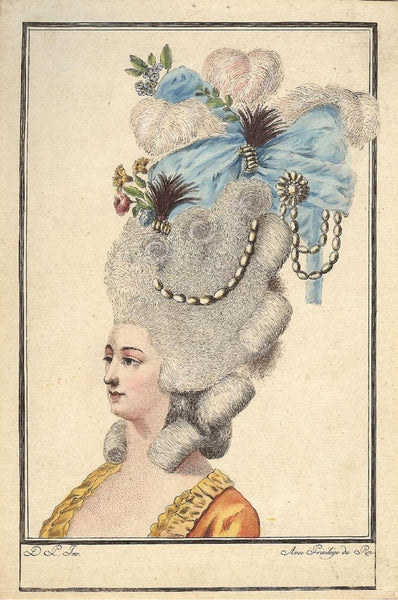 image of french pouf hairstyle