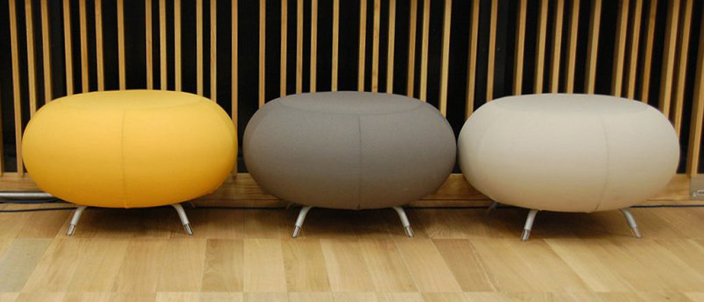 photo of poufs