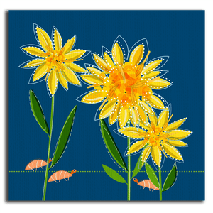 Goldenrod Canvas Wrap