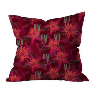 Autumn Glory Sage Floral Pillow Cover