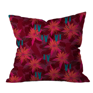 Autumn Glory Turquoise Pillow Cover