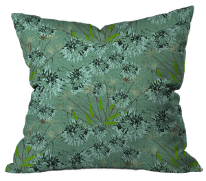 Autumn in the City Floral Pillow Cover