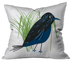 Blackbird Pillow Cover