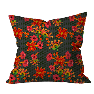 Bit o' Heat Floral Pillow Cover