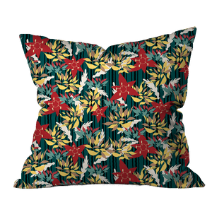 Boho Muse Floral Pillow Cover