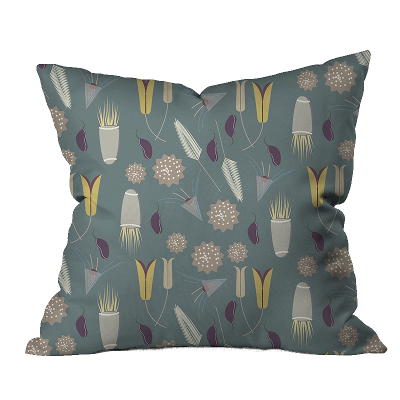 Quiet Promise Floral Pillow Cover
