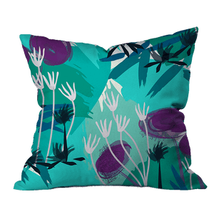 Shout Floral Outdoor Pillow