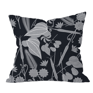 Spring Seeds BWG Floral Pillow Cover