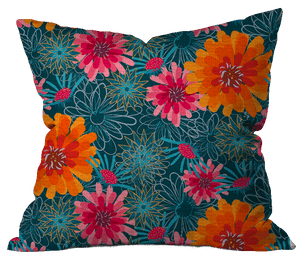 Zing Floral Pillow Cover