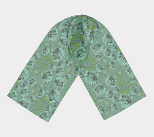 Autumn in the City Floral Scarf