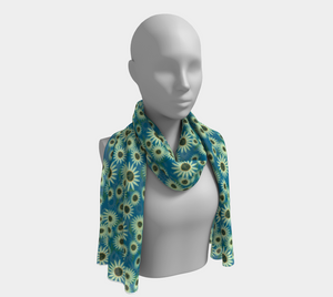 Echinacea August Scarf