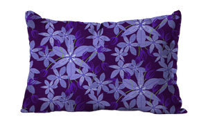 Balloon Flower Floral Pillow Cover