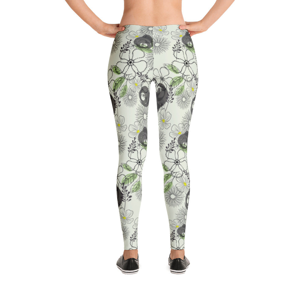 Sketchy Flowers Leggings