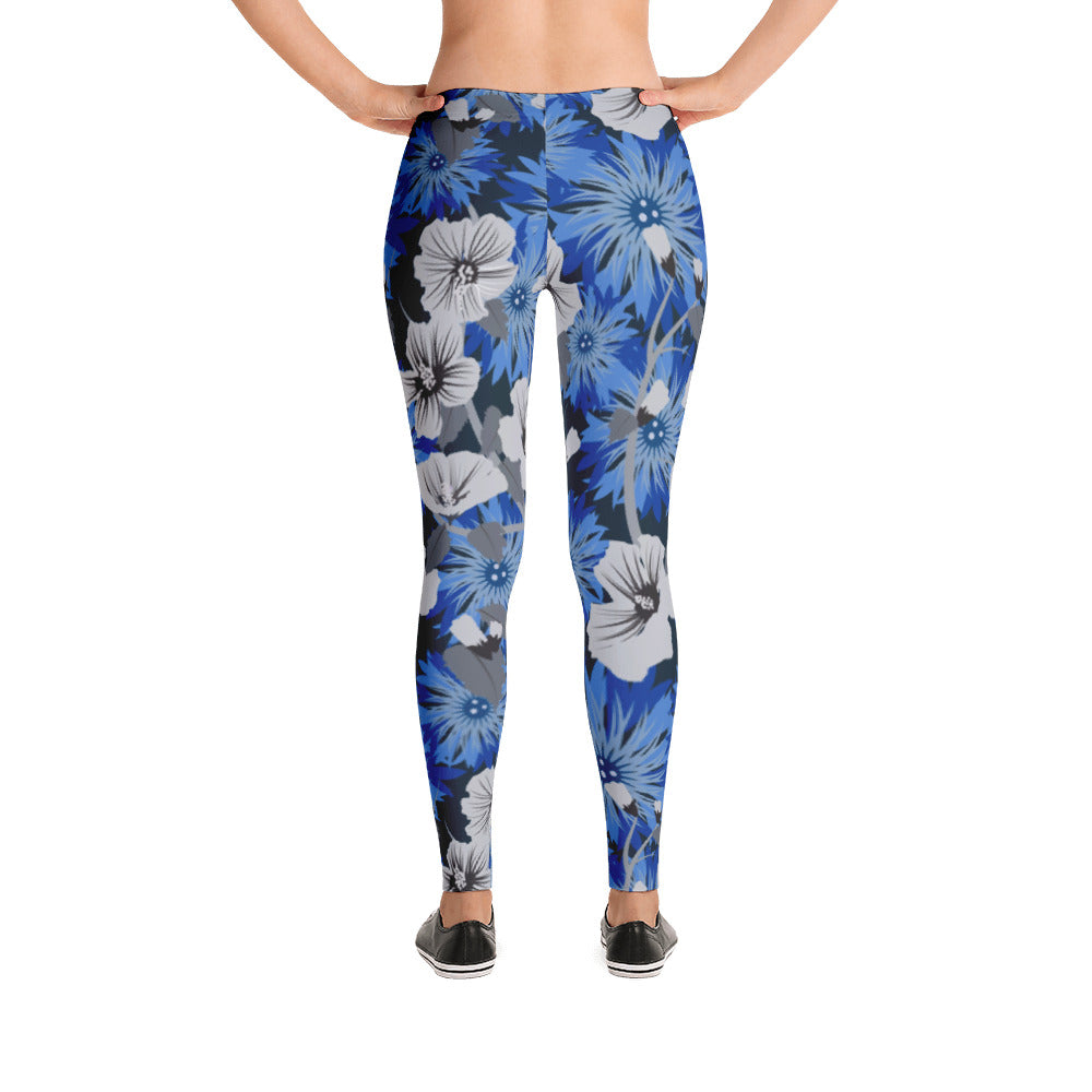 Hibiscus Floral Leggings