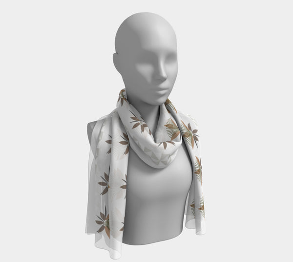 Blazing Star Flower Scarf