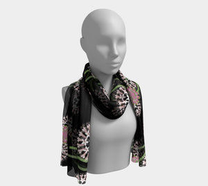 Midnight Yarrow Scarf