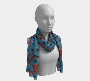 Midnight Asters Scarf