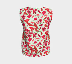 Red Penstemons Tank Top
