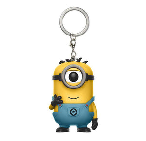 Despicable Me Carl Pocket Pop! Keychain