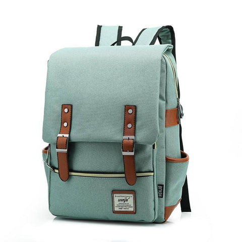 Luxy Moon Satchel Canvas Backpack