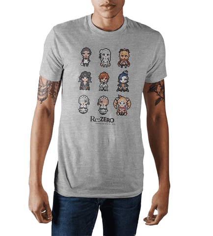 Re:Zero Grey Super Vintage T-Shirt