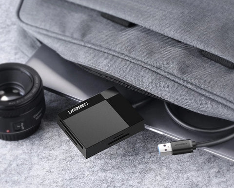 DriveByte 4-in-1 USB 3.0 SD Memory Card Adapter