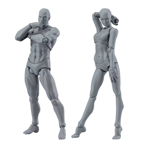 Pose Rite Drawing Mannequin Reference Model - Gray