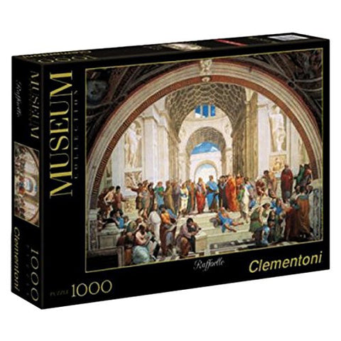 Clementoni School of Athens 1000 Piece Jigsaw Puzzle