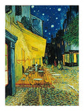 Van Gogh: Cafe Terrace at Night - 1000pc Jigsaw Puzzle By Clementoni