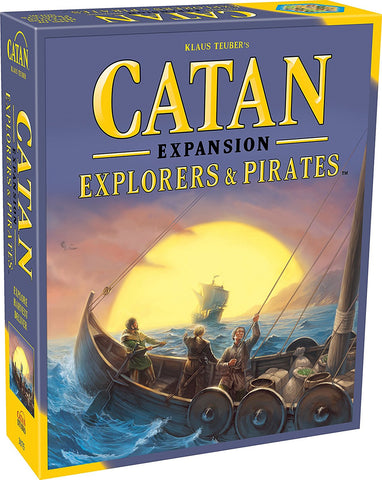 CATAN EXPLORERS & PIRATES EXPANSION (5E)