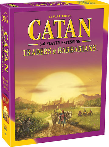 CATAN TRADERS & BARBARIANS 5-6 PLAYER EXTENSION (5E)