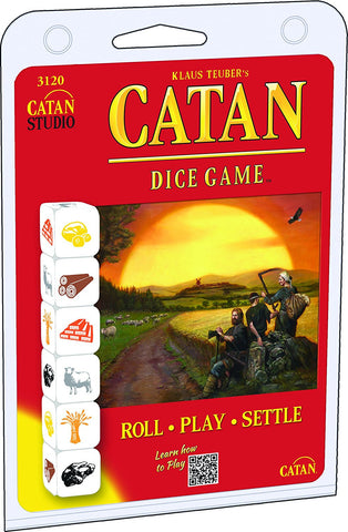 SETTLERS OF CATAN - DICE GAME - CLAMSHELL EDITION