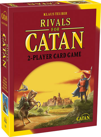 SETTLERS OF CATAN - RIVALS FOR CATAN CARD GAME