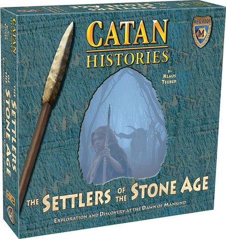 CATAN SETTLERS OF THE STONE AGE