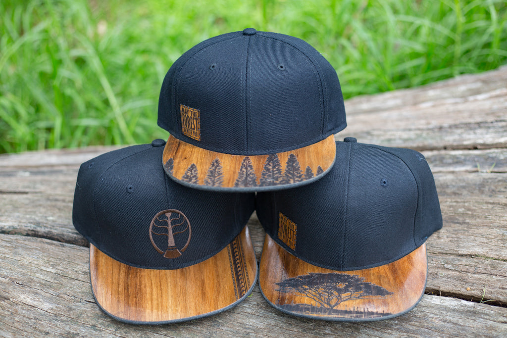Image result for wood brim cap