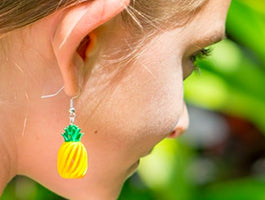 Oahu's Wood Earrings