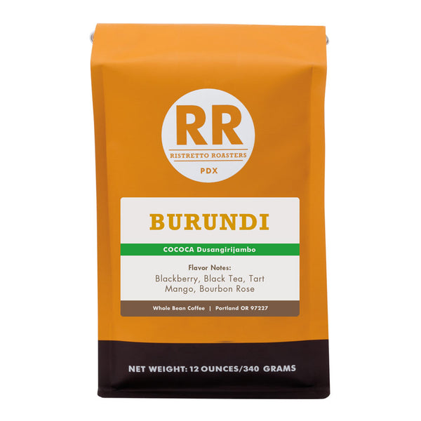Burundi Dusangirijambo Whole Bean Coffee Bag Ristretto Roasters
