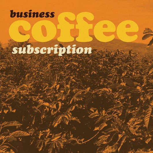 Wholesale Coffee Subscription