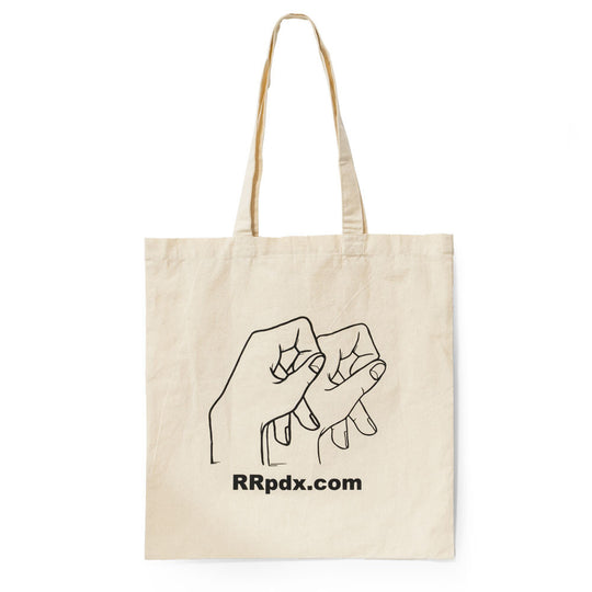 Hand-Sign Canvas Tote