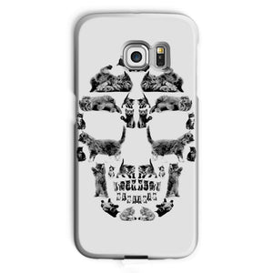 Kitten Skull Black Phone Case Phone kite.ly Galaxy S6 Edge Snap Gloss